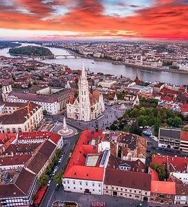 Budapest Hungary Downtown