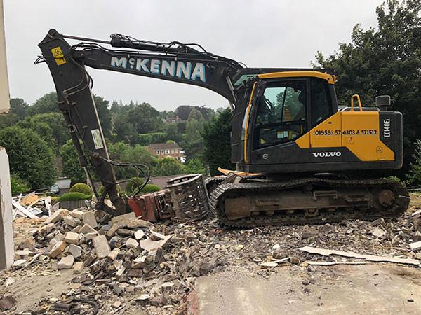 McKenna demolition team
