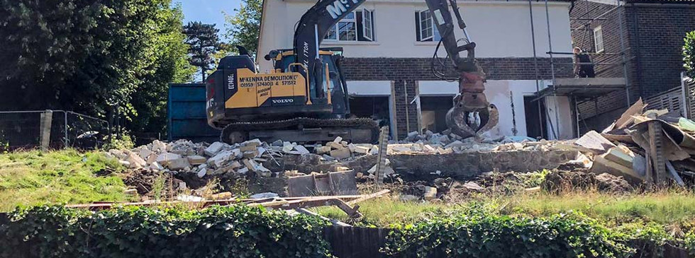 McKenna demolishers in action
