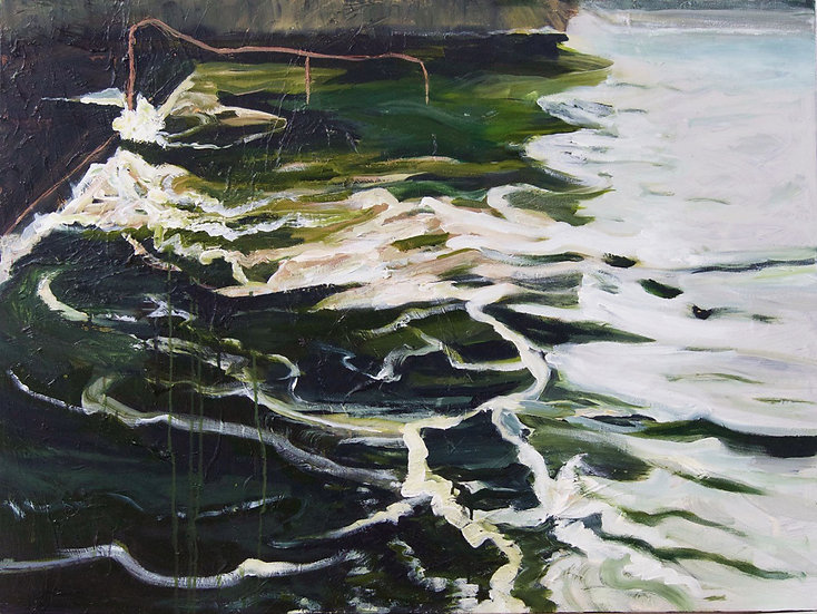 High Tide at Boat Harbour  by Gay Emmerson