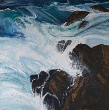 Malua Bay Rocks   by Gay Emmerson