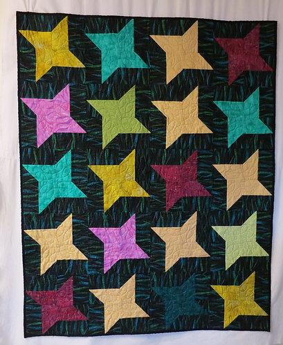 522Ninja Star Quilt