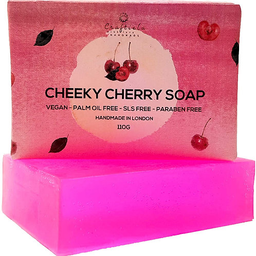 Handmade Cherry Soap