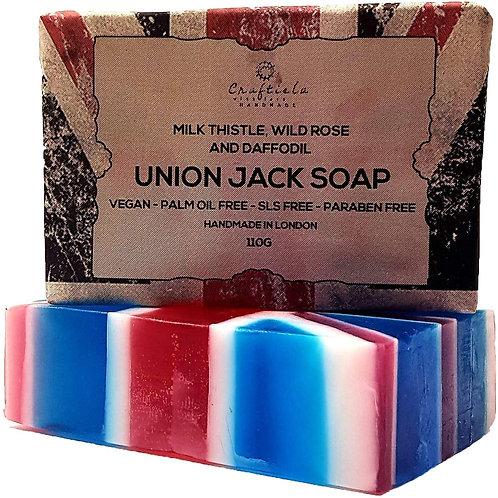 Union Jack Soap