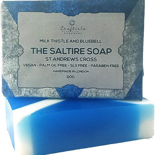 Scotland Flag Soap