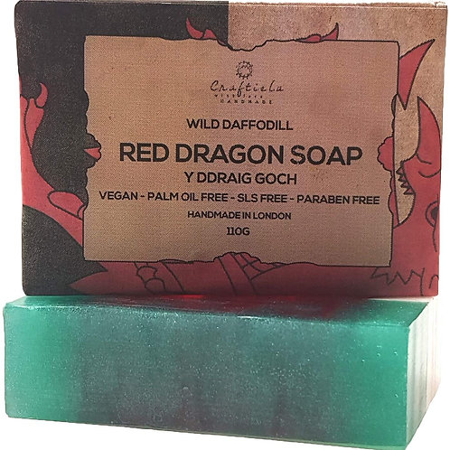 Wales Flag Soap