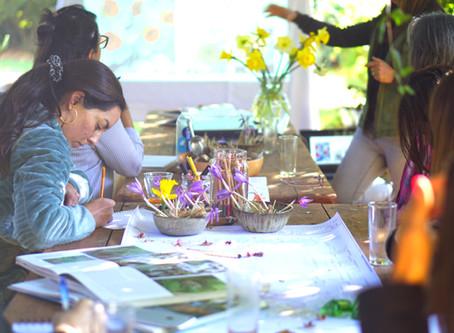 Floración en abundancia: Workshop Plantar y diseñar junto a Madelaine Lyon
