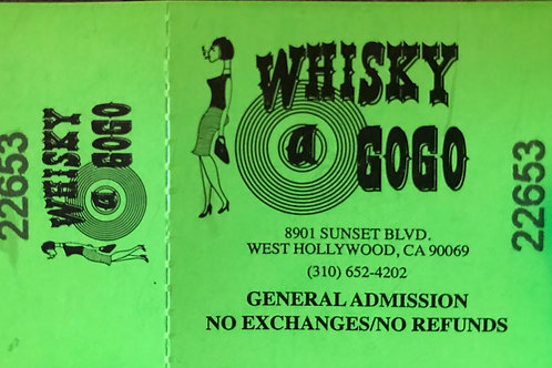 Whisky Tickets