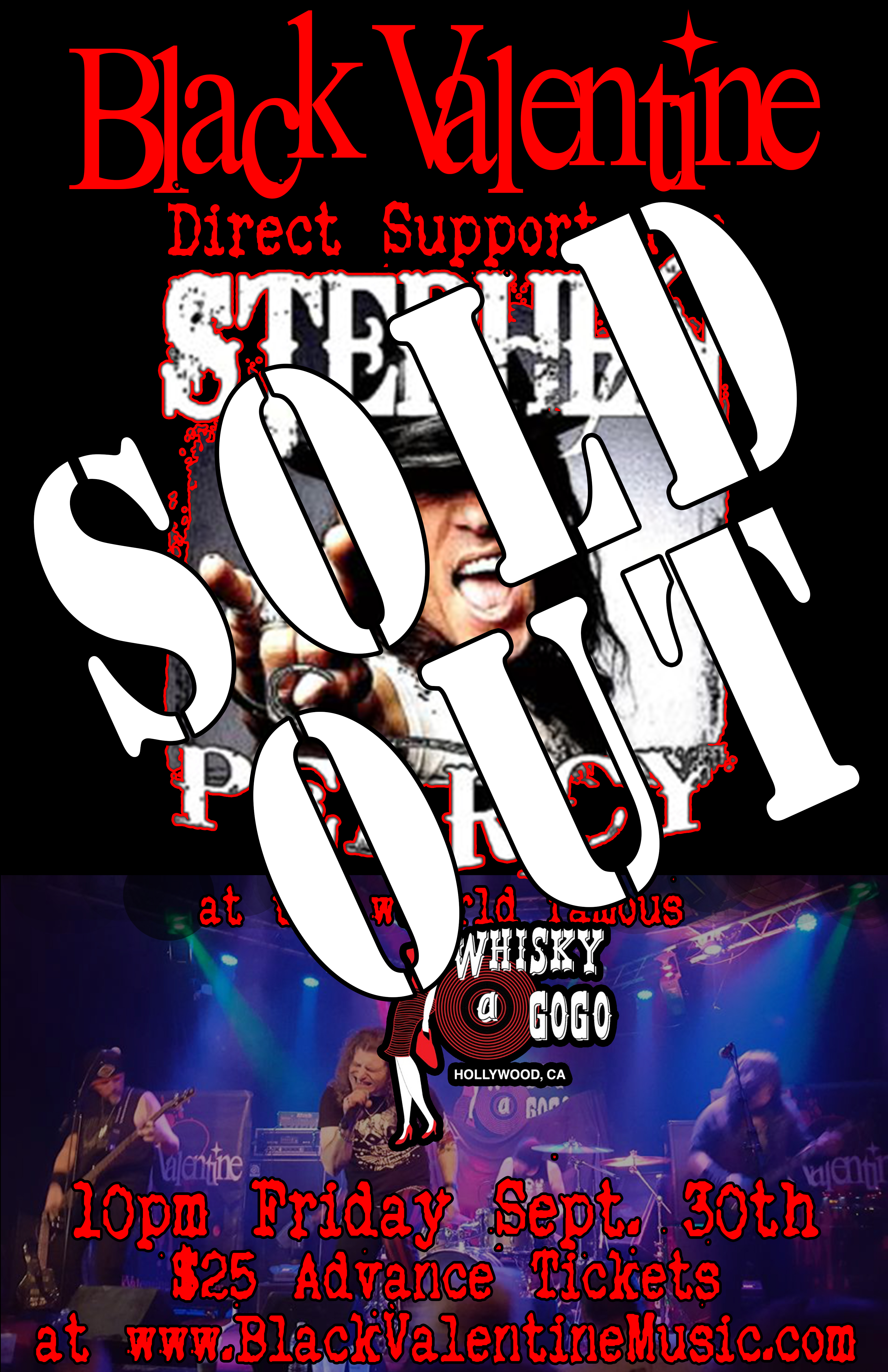 The Whisky with Stephen Pearcy 093016 Sold Out