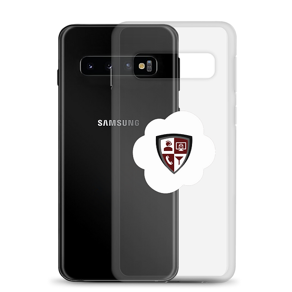 Samsung Case  - Cloud - Transparent