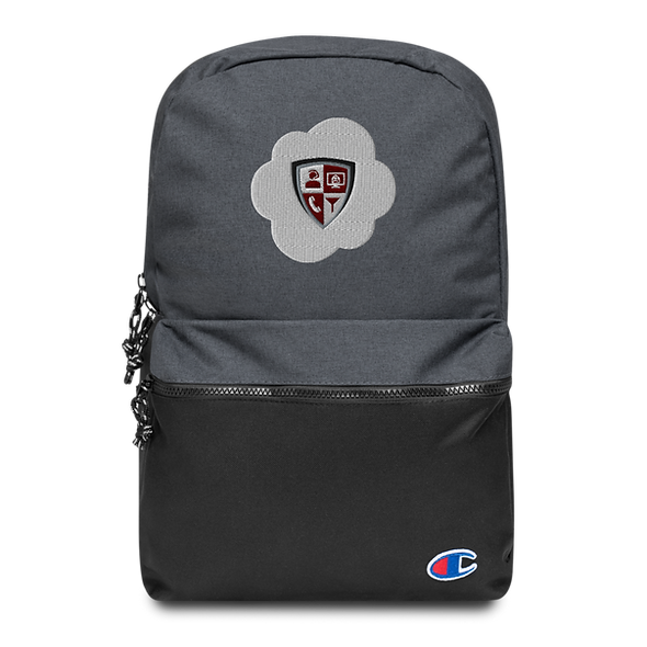 Embroidered Champion Backpack - Cloud