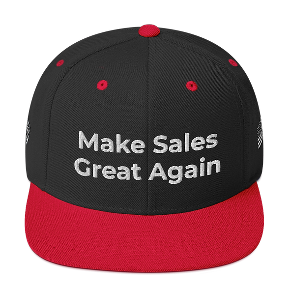 Make Sales Great Again Snapback