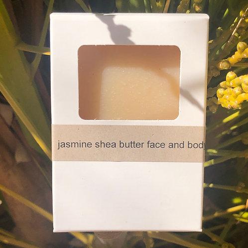 Jasmine shea face and body bar