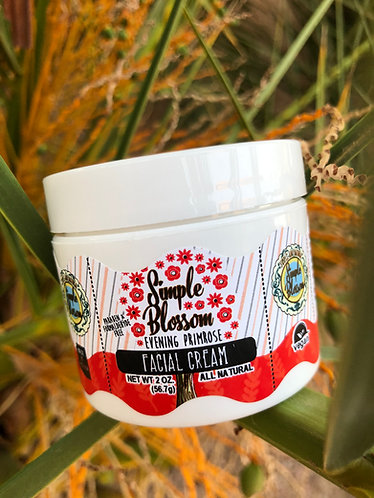 Evening primrose facial cream 2 oz
