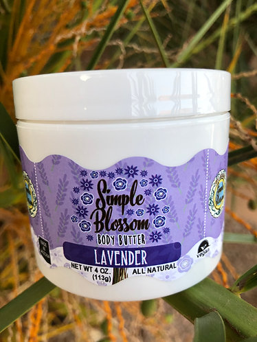 Lavender Body Butter 4oz
