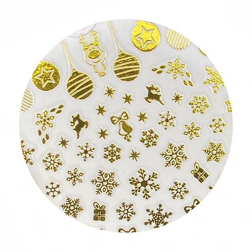 Snowflake Stickers 3 pack combo