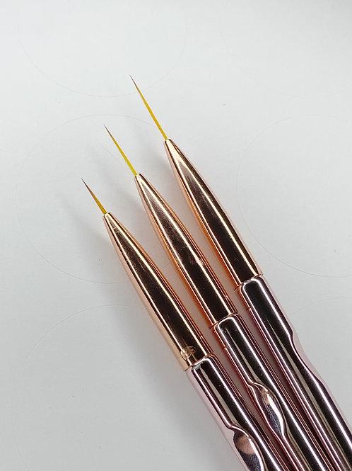 Detailed Brush Set of 3