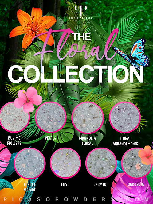 1oz Floral Collection
