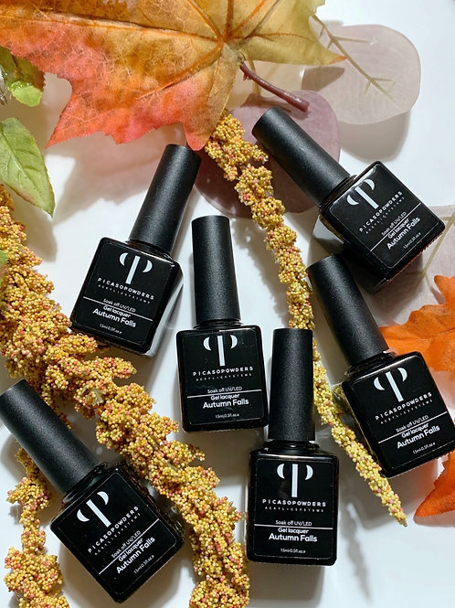 Autumn Falls Gel Laquer Collection