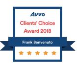 Frank Benvenuto, P.A. Clien Choice Award 2018
