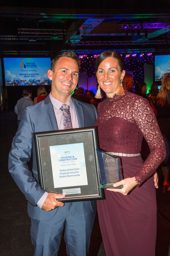 Latitude 20 Homes brings home Two Awards at the QLD Master Builders Awards