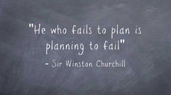 Is your builder planning to fail?