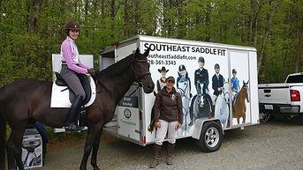 Thank you Southeast SaddleFit and Amanda