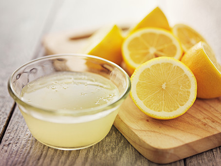 Start your day with a lemon