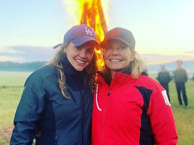 Christina and Renee Brinkerhoff Valkyrie Racing
