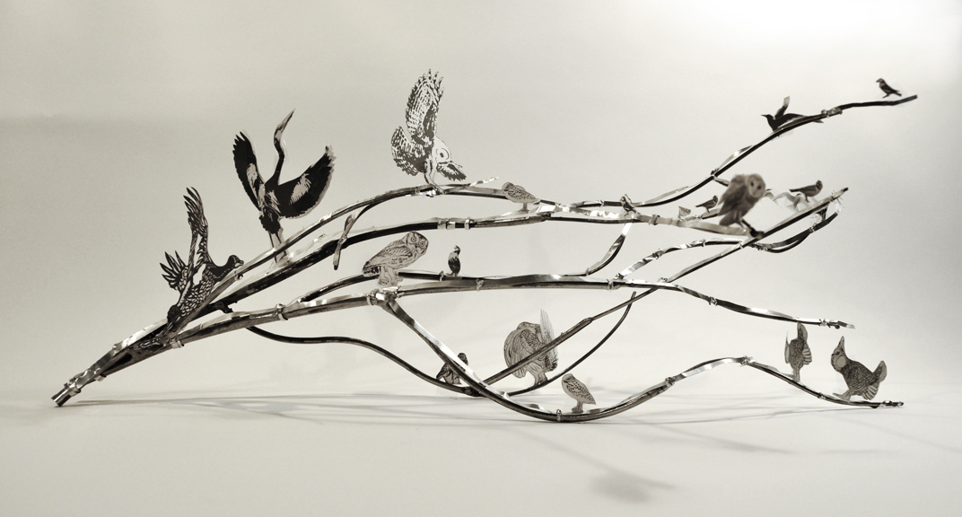 Maquette for Birds