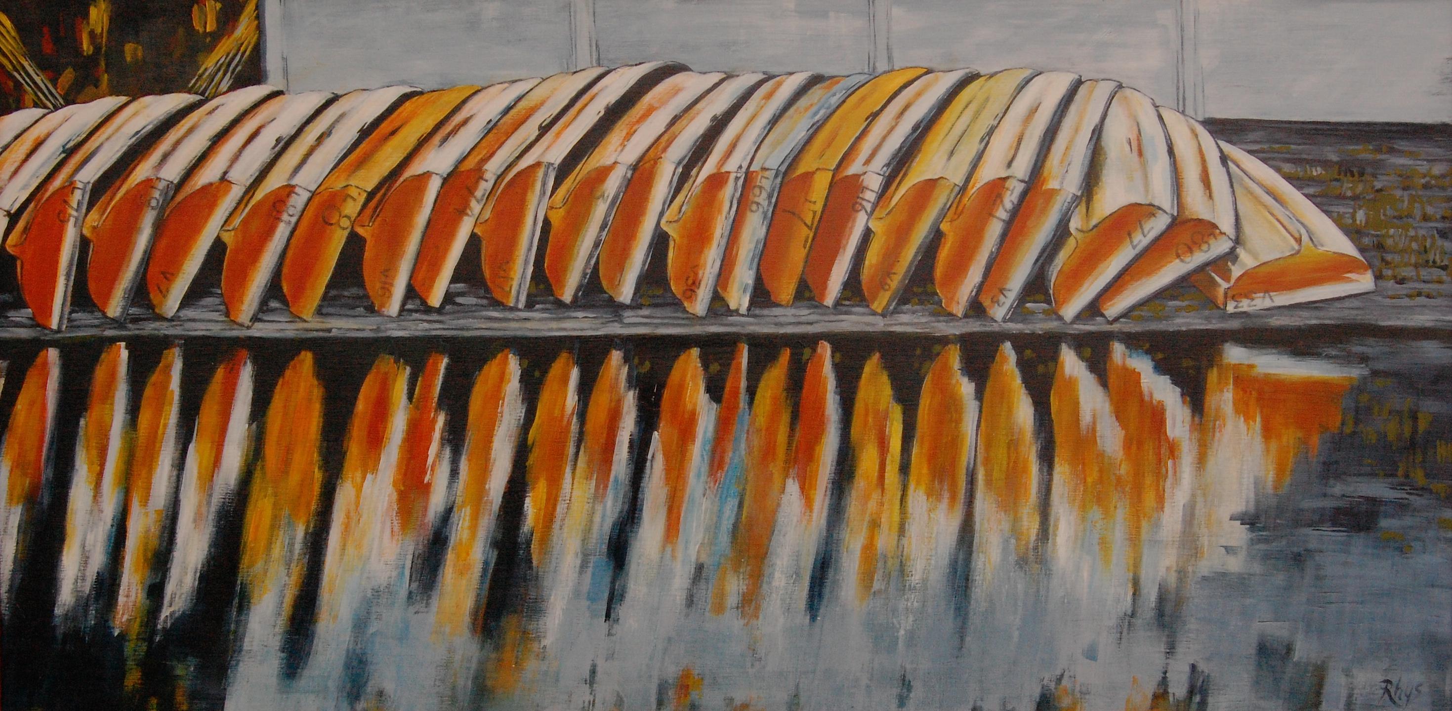 Audley boatshed
