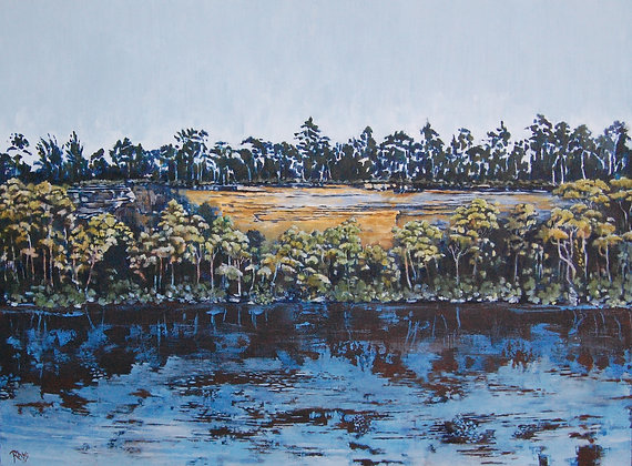 A4 print - The Grotto, Shoalhaven River
