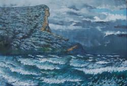 Clearing storm Garie beach
