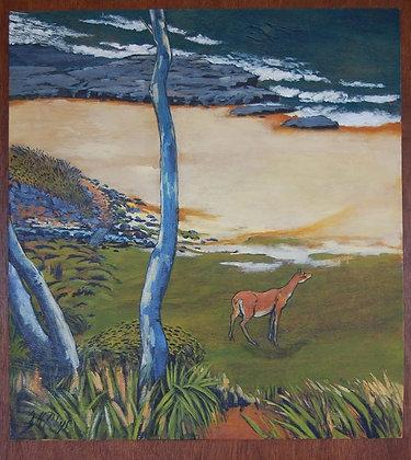A4 print - Little Garie Deer