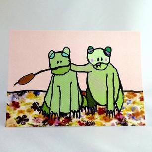 Buddy frog