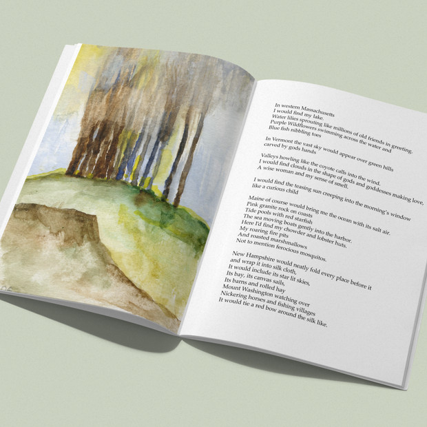 DBUN Book: Art + Writings by Nathalie Trytell