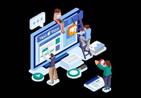 Website Maintenance | Next Wave Services | Team