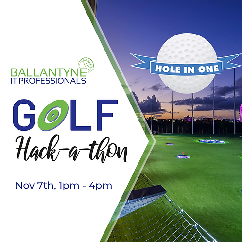 Hole In One Sponsor 2019 Ballantyne IT Golf  Hack-A-Thon