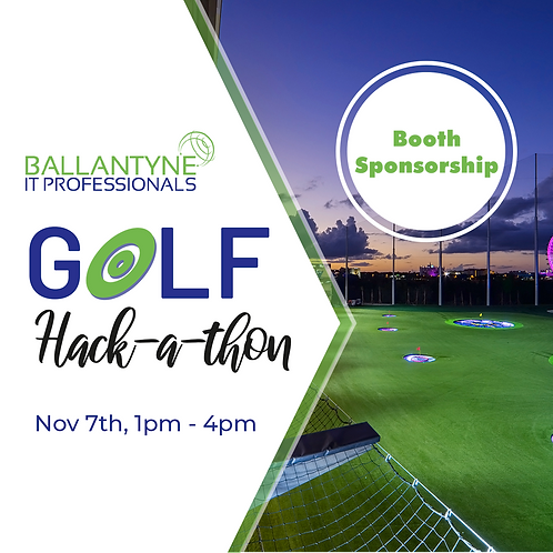 Bay Sponsorship 2019 Ballantyne IT Golf  Hack-A-Thon