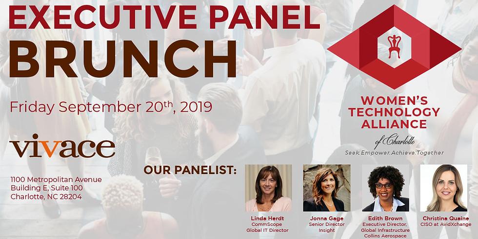 Executive Panel Brunch on Friday September 20, 2019