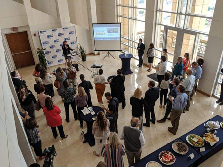 Sharpen Family launch with the United Way of the Piedmont