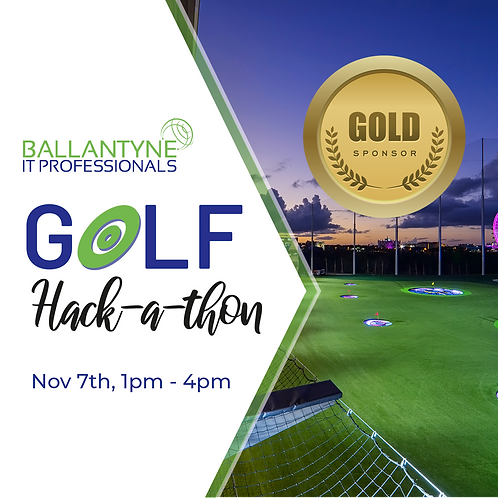 Gold Sponsor 2019 Ballantyne IT Golf  Hack-A-Thon