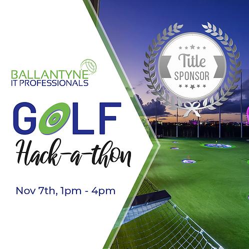 Title Sponsor 2019 Ballantyne IT Golf  Hack-A-Thon