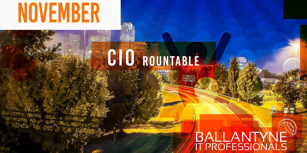 Ballantyne IT Professionals CIO Roundtable - November