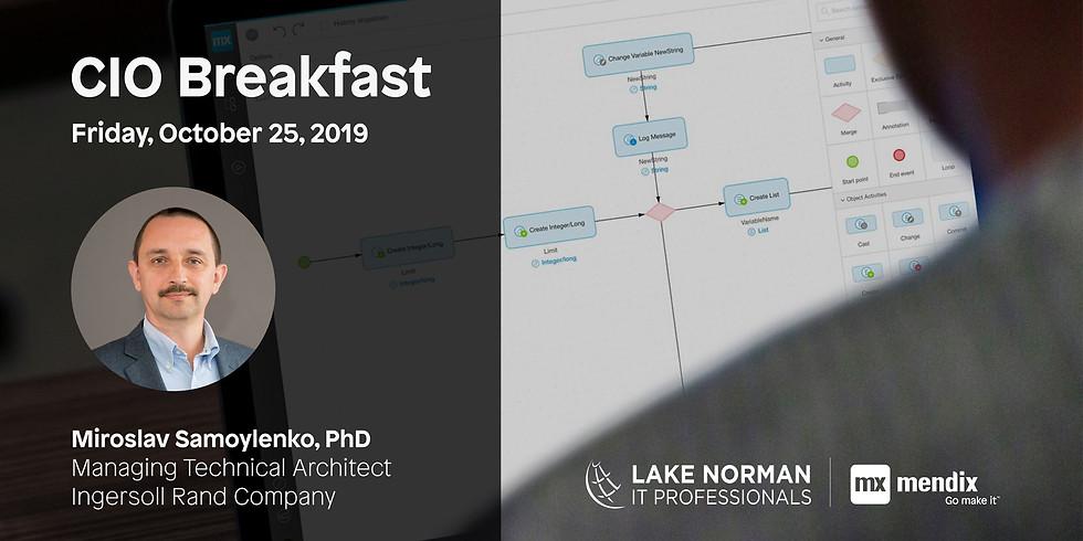 October CIO Breakfast Of Lake Norman