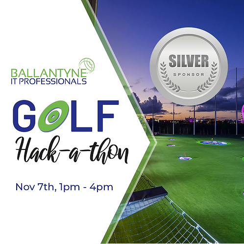 Silver Sponsor 2019 Ballantyne IT Golf  Hack-A-Thon