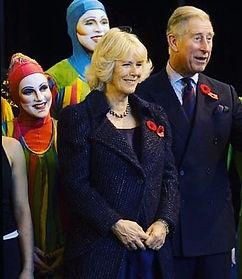 Me and the British Royal family visiting