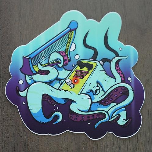 Unlimited Octopus Power! Sticker