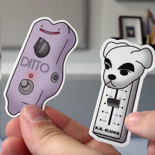 Pedal Clone Stickers
