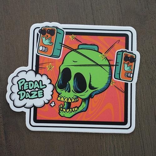 Pedal Daze Sticker